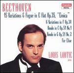 "Beethoven: 15 Variations & Fugue, Op. 35, ""Eroica""; 6 Variations in F, Op. 34, etc."