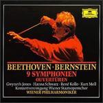 Beethoven: 9 Symphonien; Ouvertüren [Box Set] - Gwyneth Jones (soprano); Hanna Schwarz (alto); Hanna Schwarz (contralto); Kurt Moll (bass); René Kollo (tenor); Vienna State Opera Concert Chorus (choir, chorus); Wiener Philharmoniker; Leonard Bernstein (conductor)