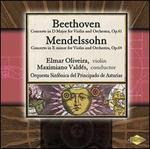 Beethoven: Concerto in D major for Violin and Orchestra; Mendelssohn: Concerto in E minor for Violin and Orchestra