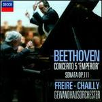 """Beethoven: Concerto No. 5 """"Emperor""""; Sonata Op. 111 - Nelson Freire (piano); Leipzig Gewandhaus Orchestra; Riccardo Chailly (conductor)"""