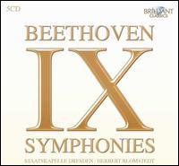 Beethoven: IX Symphonies - Helena Döse (soprano); Marga Schiml (mezzo-soprano); Peter Schreier (tenor); Theo Adam (bass); Staatskapelle Dresden;...