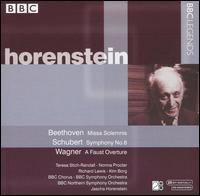 Beethoven: Missa Solemnis; Schubert: Symphony No. 8; Wagner: A Faust Overture - Kim Borg (bass); Norma Procter (contralto); Richard Lewis (tenor); Teresa Stich-Randall (soprano);...
