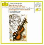 Beethoven: Piano Concerto in D major; Violin Romances