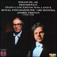Beethoven: Piano Concertos 1 & 2 - Emanuel Ax (piano); Royal Philharmonic Orchestra; André Previn (conductor)