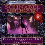 Beethoven: Piano Concertos Nos. 4 & 5; Für Elise - Artur Schnabel (piano)