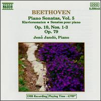 Beethoven: Piano Sonatas, Vol. 5 - Jenö Jandó (piano)
