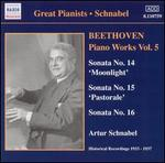 Beethoven: Piano Works, Vol. 5
