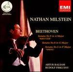"""Beethoven: Sonata No. 9 """"Kreutzer""""; Sonata No. 8; Sonata No. 5 """"Spring"""""""
