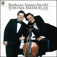 Beethoven: Sonatas for Cello & Piano Nos. 1 & 2 - Emanuel Ax (piano); Yo-Yo Ma (cello)