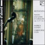 Beethoven: Sonatas for Piano & Cello, Op. 5, Nos. 1 & 2