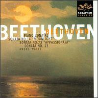 "Beethoven: Sonatas No. 14 ""Moonlight""; Sonata No. 23 ""Appassionata""; Sonata No. 13 - André Watts (piano)"