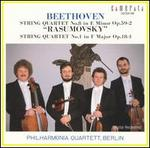 "Beethoven: String Quartet Nos. 8 (""Rasumovsky"") & 1, Opp. 59/2 & 18/1"