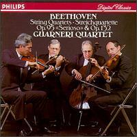 Beethoven: String Quartets Nos. 15 & 11 - Arnold Steinhardt (violin); David Soyer (cello); Guarneri Quartet; John Dalley (violin); Michael Tree (viola)