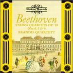 Beethoven: String Quartets Op. 18 Nos. 4, 5 & 6