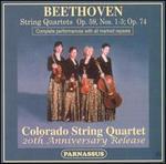 Beethoven: String Quartets, Op. 59, Nos. 1-3 & Op. 74