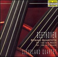 Beethoven: String Quartets - Cleveland Quartet; Cleveland Quartet (strings); James Dunham (viola); Paul Katz (cello); Peter Salaff (violin);...