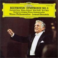 Beethoven: Symphonie No. 9 - Gwyneth Jones (soprano); Hanna Schwarz (alto); Kurt Moll (bass); René Kollo (tenor); Wiener Philharmoniker; Vienna State Opera Concert Chorus (choir, chorus); Leonard Bernstein (conductor)