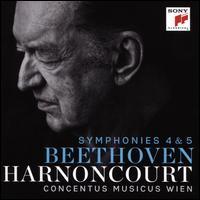 Beethoven: Symphonies 4 & 5 - Concentus Musicus Wien; Concentus Musicus Wien; Nikolaus Harnoncourt (conductor)