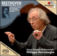 Beethoven: Symphonies Nos. 1 & 3 - Royal Flemish Philharmonic; Philippe Herreweghe (conductor)