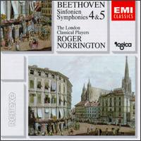 Beethoven: Symphonies Nos. 4 & 5 - London Classical Players; Roger Norrington (conductor)