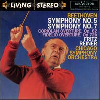 Beethoven: Symphonies Nos. 5 & 7 - Chicago Symphony Orchestra; Fritz Reiner (conductor)