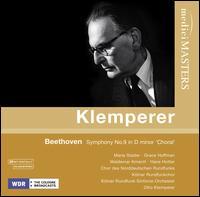 Beethoven: Symphony No. 9 [1958 Recording] - Grace Hoffmann (mezzo-soprano); Hans Hotter (bass); Maria Stader (soprano); Waldemar Kmentt (tenor);...