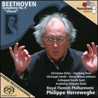 "Beethoven: Symphony No. 9 ""Choral"" [2009 Recording] - Christiane Oelze (soprano); Christoph Strehl (tenor); David Wilson-Johnson (bass); Ingeborg Danz (mezzo-soprano);..."