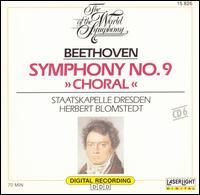 "Beethoven: Symphony No. 9 (""Choral"") - Edith Wiens (soprano); Karl-Heinz Stryczek (bass); Reiner Goldberg (tenor); Ute Walther (contralto);..."