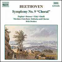 "Beethoven: Symphony No. 9 ""Choral"" - Hasmik Papian (soprano); Manfred Fink (tenor); Ruxandra Donose (mezzo-soprano); Nicolaus Esterházy Chorus (choir, chorus);..."