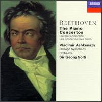Beethoven: The Piano Concertos - Vladimir Ashkenazy (piano); Chicago Symphony Orchestra; Georg Solti (conductor)