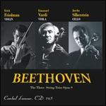 Beethoven: The Three String Trios, Op. 9