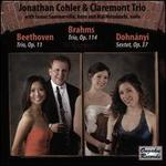 Beethoven: Trio, Op. 11; Brahms: Trio, Op. 114; Dohnányi: Sextet, Op. 37
