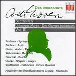 Beethoven: Unknown Works, Vol. 3