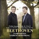 Beethoven: Violin Sonatas Nos. 4, 5 & 8; Rondo in G; Six German Dances
