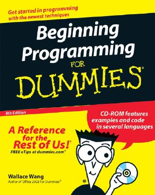 Beginning Programming for Dummies - Wang, Wallace