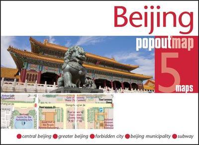 Beijing Popout Map (Footprint Popout Maps) -