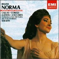 Bellini: Norma [Highlights] - Christa Ludwig (vocals); Franco Corelli (tenor); Maria Callas (soprano); Nicola Zaccaria (bass); La Scala Theater Orchestra; Tullio Serafin (conductor)