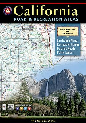 Benchmark California Road & Recreation Atlas, 7th Edition: State Recreation Atlases - National Geographic Maps