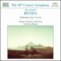Benda: Sinfonias Nos. 7 to 12 - Prague Chamber Orchestra; Christian Benda (conductor)