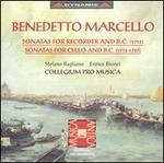 Benedetto Marcello: Sonatas for Recorder and B.C.; Sonatas for Cello and B. C.