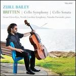 Benjamin Britten: Cello Symphony; Cello Sonata