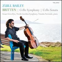 Benjamin Britten: Cello Symphony; Cello Sonata - Zuill Bailey / Grant Llewellyn