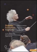 Berliner Philharmoniker/Sir Simon Rattle: Tchaikovsky/Stravinsky/Rachmaninoff