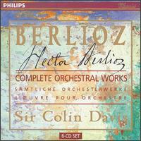 Berlioz: Complete Orchestral Works - Arthur Grumiaux (violin); Denis Wick (trombone); John Constable (piano); John Shirley-Quirk (bass); José Carreras (tenor);...