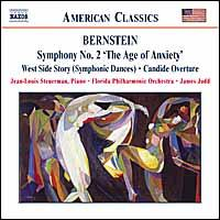 "Bernstein: Symphony No. 2 ""The Age of Anxiety""; West Side Story Symphonic Dances; Candide - Jean Louis Steuerman (piano); Florida Philharmonic Orchestra; James Judd (conductor)"