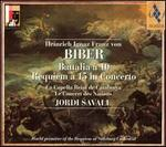 Biber: Battalia à 10; Requiem à 15 in Concerto