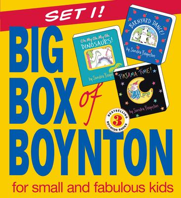 Big Box of Boynton: Barnyard Dance! Pajama Time! Oh My Oh My Oh Dinosaurs! - Boynton, Sandra