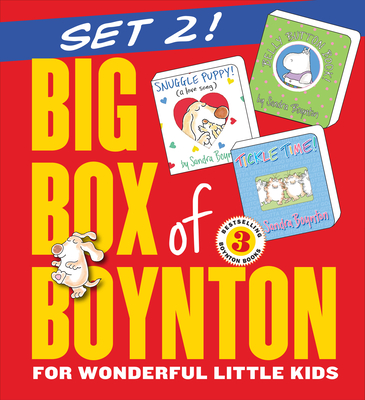 Big Box of Boynton Set 2!: Snuggle Puppy! Belly Button Book! Tickle Time! - Boynton, Sandra