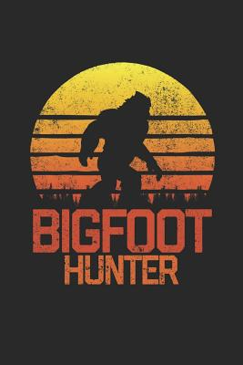 Bigfoot Hunter: Retro Blank Lined Journal - Publishing, Zen Studio