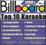 Billboard Top Karaoke: 90's, Vol. 2